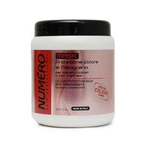 NUMERO MASK Protezione colore al Melograno per capelli colorati o con meches 1000 ml