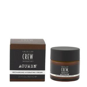 American Crew Acumen Recharging Hydrating Cream 60ml - Crema Idratante Rivitalizzante
