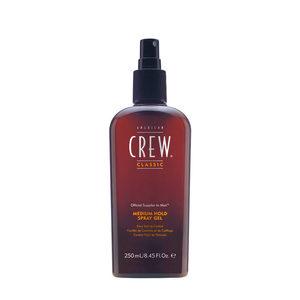 American crew Spray gel medium hold 250ml - gel spray tenuta media