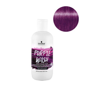 Schwarzkopf Professional Bold Color Wash Purple Wash 300ml - Shampoo Colore Viola Intenso