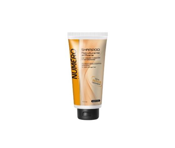 8011935052905numero shampoo ristrutturante all'avena per capelli indeboliti e sensibilizzati 300 ml