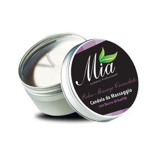 MIA Candela da massaggio Cioccolato 80ml