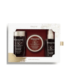 Kérastase Aura Botanica Travel Set  3 pz shampoo  80 ml; maschera 75 ml; Spray 50ml