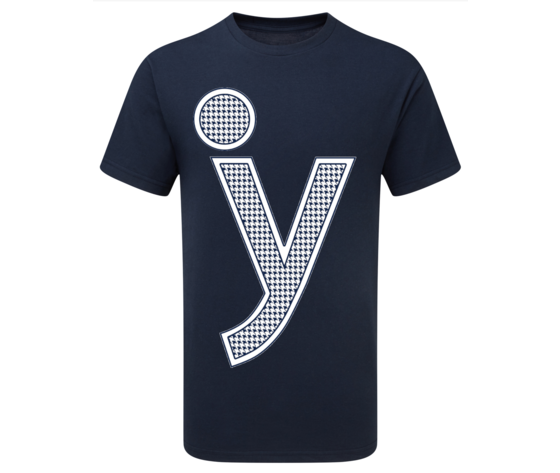 T shirt y pieddepoulle blue