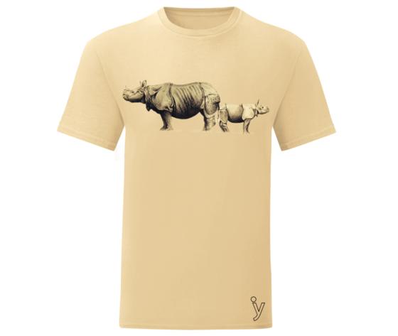 Rinoceronti tshirt  beige
