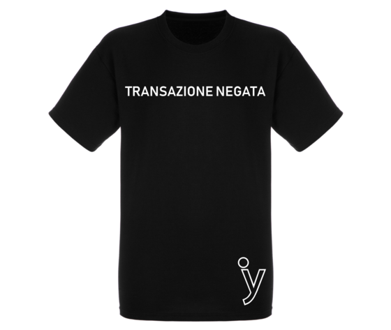 Transazione negata tshirt ok