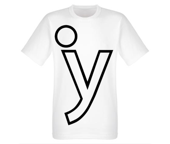 Y logo nera tshirt street