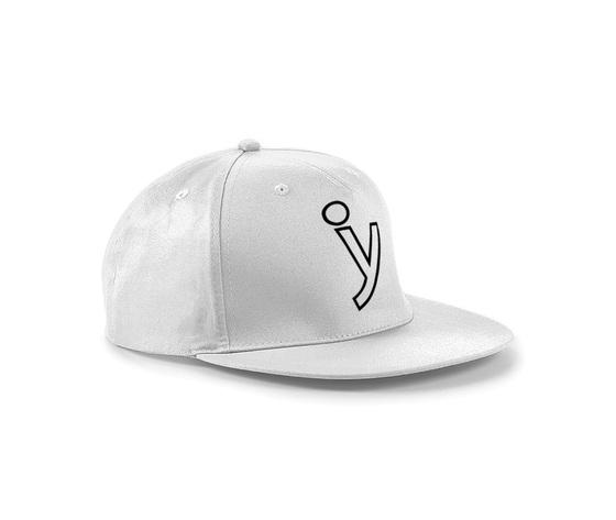 Rap hat white y blackb1000