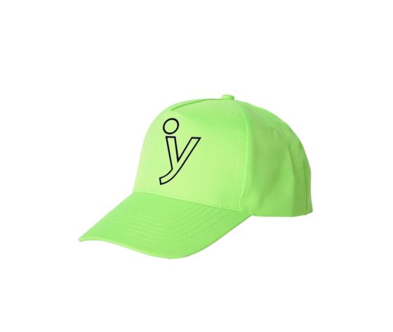 capellini fluo cappellino verde