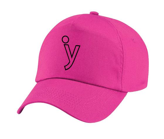 Cappello fucsia nero