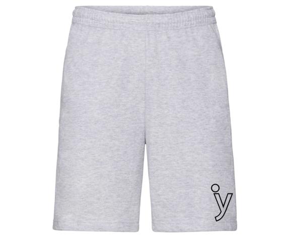 Pantaloncini grigi y
