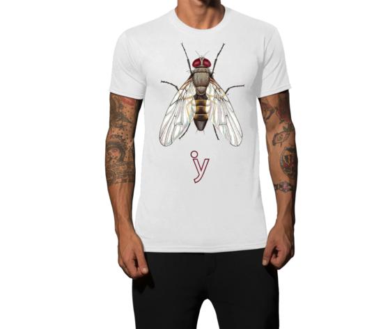 Maglietta mosca bianco