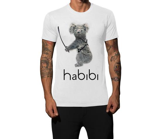 Tshirt bianca koala habibib1000