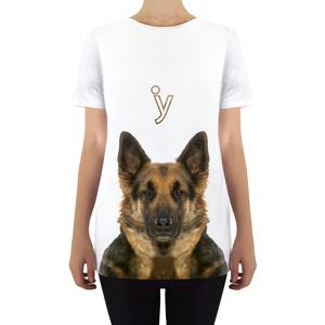 T-shirt pastore tedesco