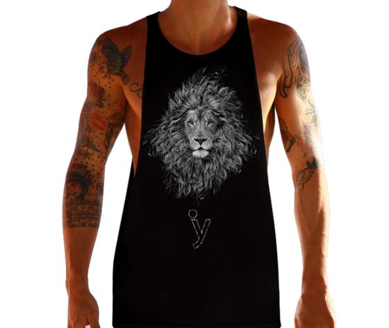 Canotta taglio vivo astrology leone