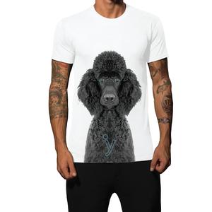 T-shirt barboncino nero