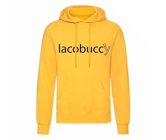 Felpa girasole logo iacobuccy