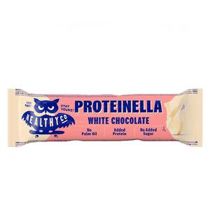 Healthyco Proteinella Bar 35 Gr - Cioccolato Bianco (Confezione da 20 Pezzi)
