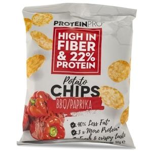 Healthyco Proteinpro Chips 50 Gr – Bbq/paprika (Confezione da 14  Pezzi)