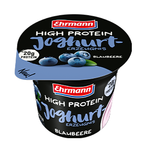 Ehrmann High Protein Joghurt 200 Gr – Fragola (Confezione da 8 Pezzi)