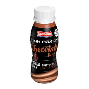 Ehrmann High Protein Shot 250 Ml – Cioccolato (Confezione da 12 Pezzi)