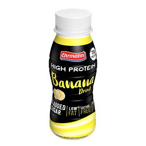 Ehrmann High Protein Shot 250 Ml – Banana (Confezione da 12 Pezzi)