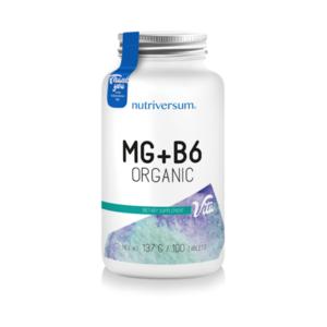 Nutriversum Mg+b6 Organic 100 Caps