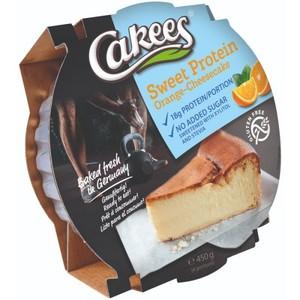 Cakees Cheesecake 450 Gr - Orange (Confezione da 18 Pezzi)