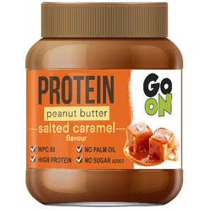 Sante Go On Peanut Butter 350 Gr – Salted Caramel (Confezione da 6 Pezzi)
