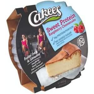 Cakees Cheesecake 450 Gr - Raspberry (Confezione da 18 Pezzi)