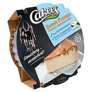 Cakees Cheesecake 450 Gr - Vaniglia (Confezione da 18 Pezzi)