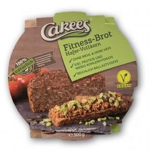 Cakees Fitness Brot 500 Gr (Confezione da 18 Pezzi)