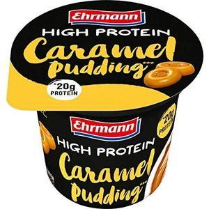 Ehrmann High Protein Pudding 200 Gr - Caramello (Confezione da 8 Pezzi)