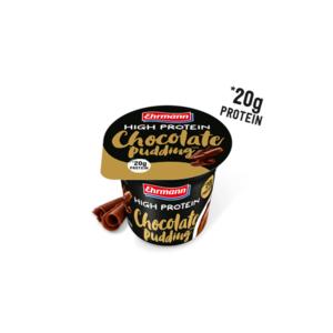 Ehrmann High Protein Pudding 200 Gr - Cioccolato (Confezione da 8 Pezzi)