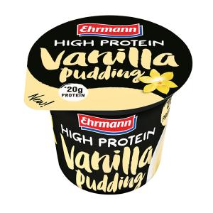 Ehrmann High Protein Pudding 200 Gr - Vaniglia (Confezione da 8 Pezzi)