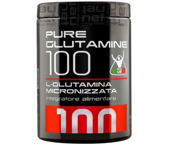 Net pure glutamine 200 gr glutammina micronizzata purissimaa