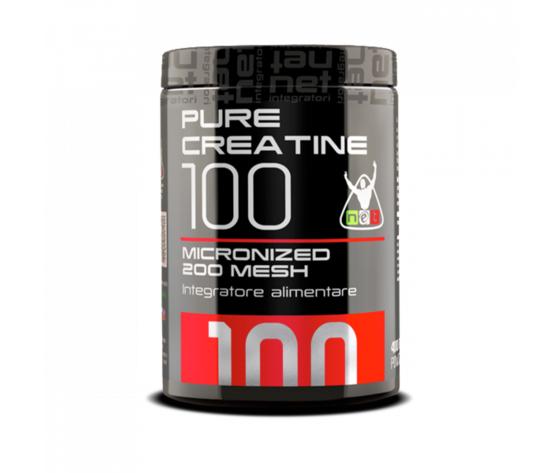 Net pure creatine 100 400 grammi