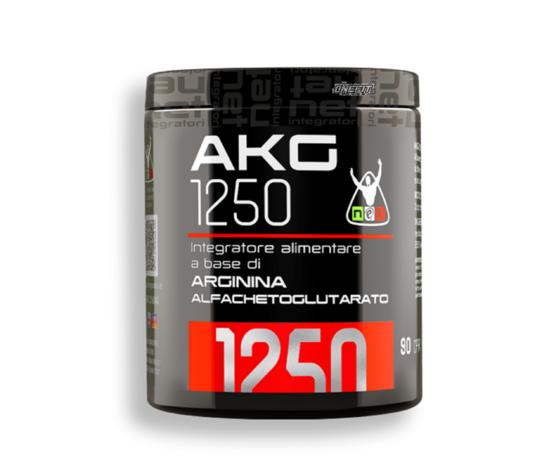 Net integratori akg 1250 90 cpr arginina alfachetoglutarato ossido nitrico