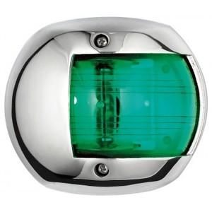 LUCE DI VIA 12 METRI 12 Volt inox fanale di via verde