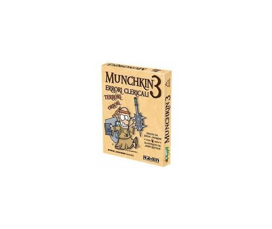 Munchkin 3 errori clericali