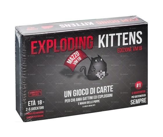 Exploding kittens vm18 gioco da tavolo italiano