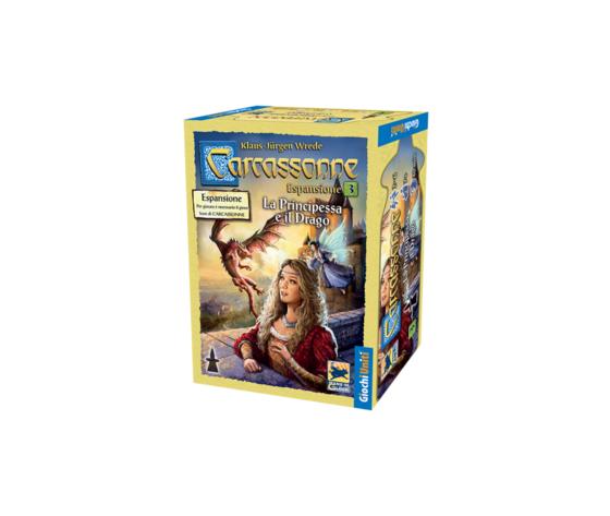 Carcassonne la principessa e il drago