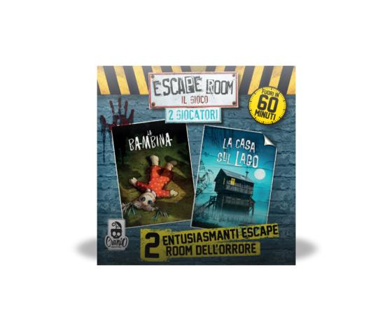 Escape room 2 giocatori horror