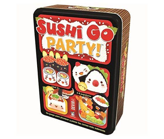 Sushi go pary