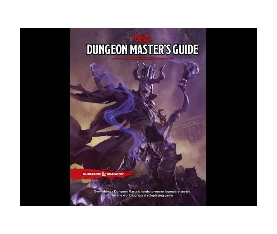 Dungeon and dragons 5e dungeon master guide