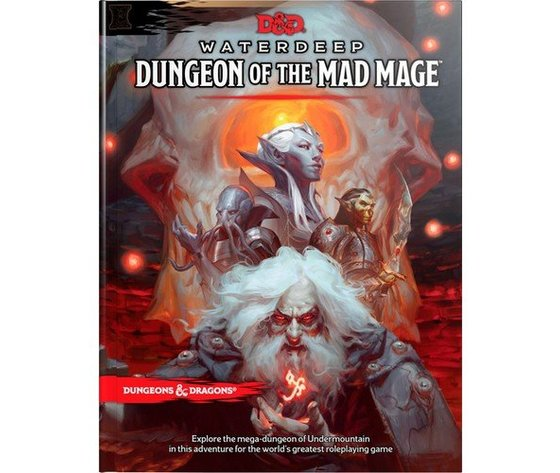 Dungeons and dragons 5e il dungeon del mago folle