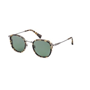 GIGI Studios LAOS 6388 02 Silver tartarugato/ grey Green  occhiali