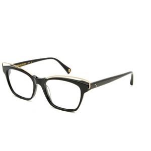 GIGI Studios  MARTINA 6268 01  black e gold occhiali