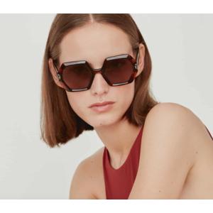 GIGI Studios ORCHID 6548/2 tartarugato / brown occhiali