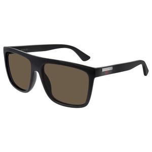 GUCCI 0748S 002 black / brown occhiali